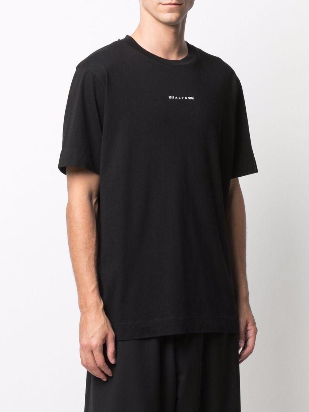 logo t-shirt man black in cotton 1017 ALYX 9SM | T-shirts | AAUTS0232FA01BLK0001