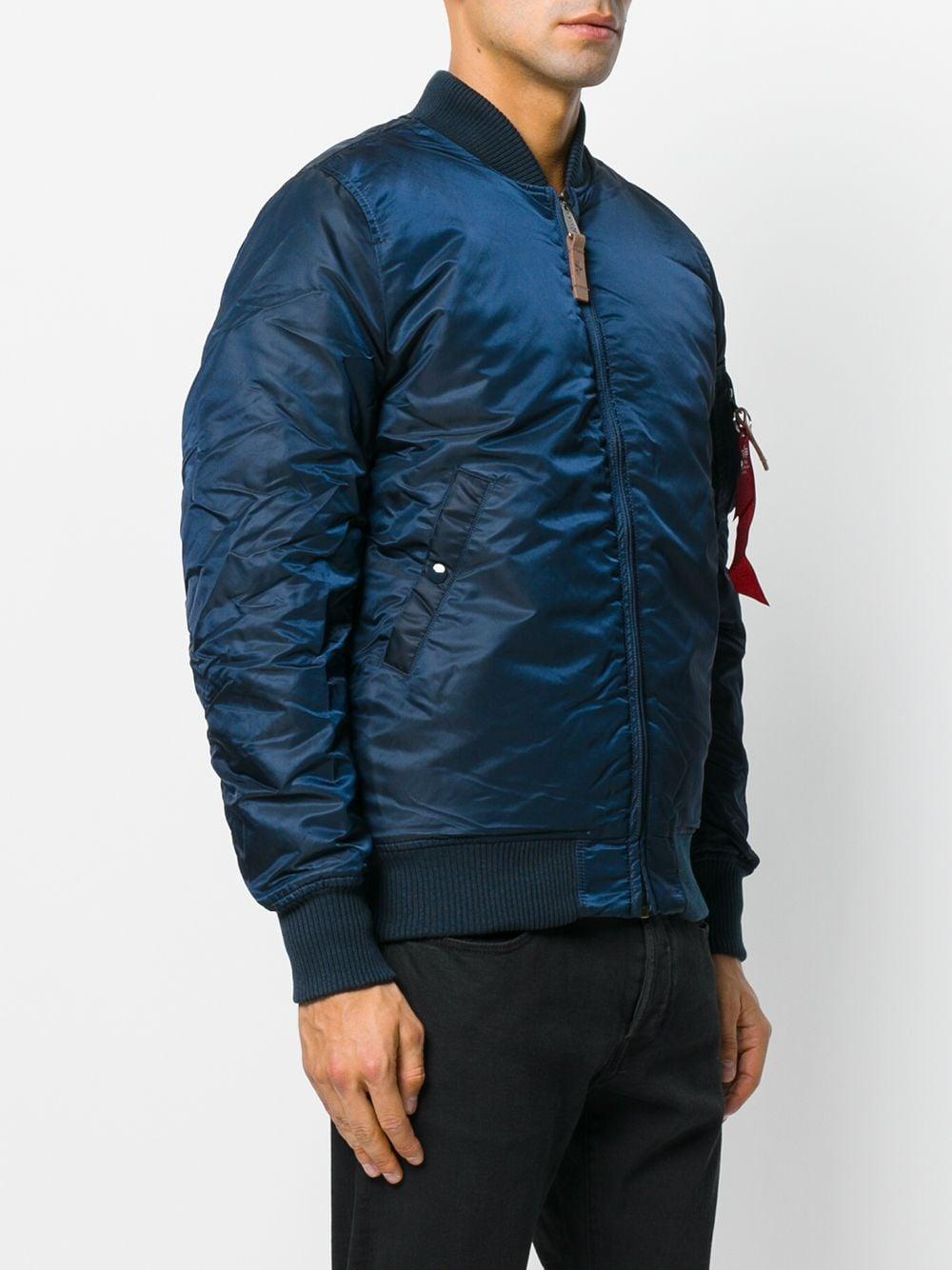 giacca ma1 vf 59 long uomo blu ALPHA INDUSTRIES | Giacche | 16810007