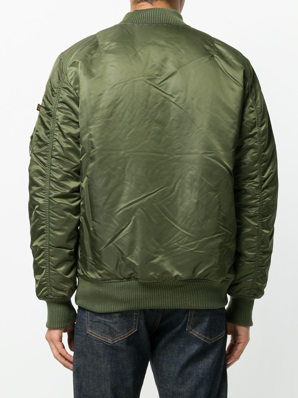 ma1 vf 59 long jacket man green ALPHA INDUSTRIES   Jackets   168100257
