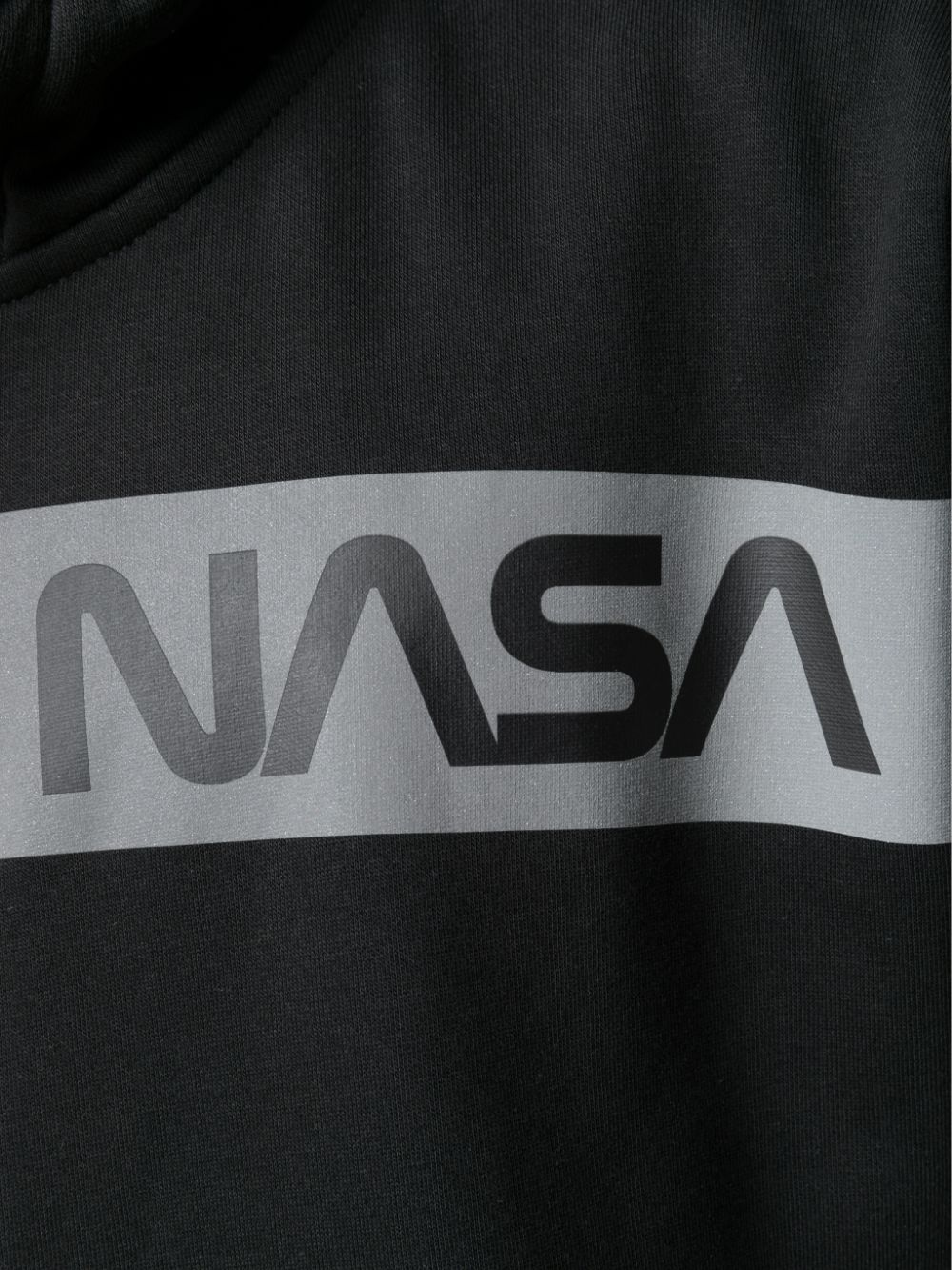 nasa rs hoodie man black in cotton ALPHA INDUSTRIES   Sweatshirts   19831303