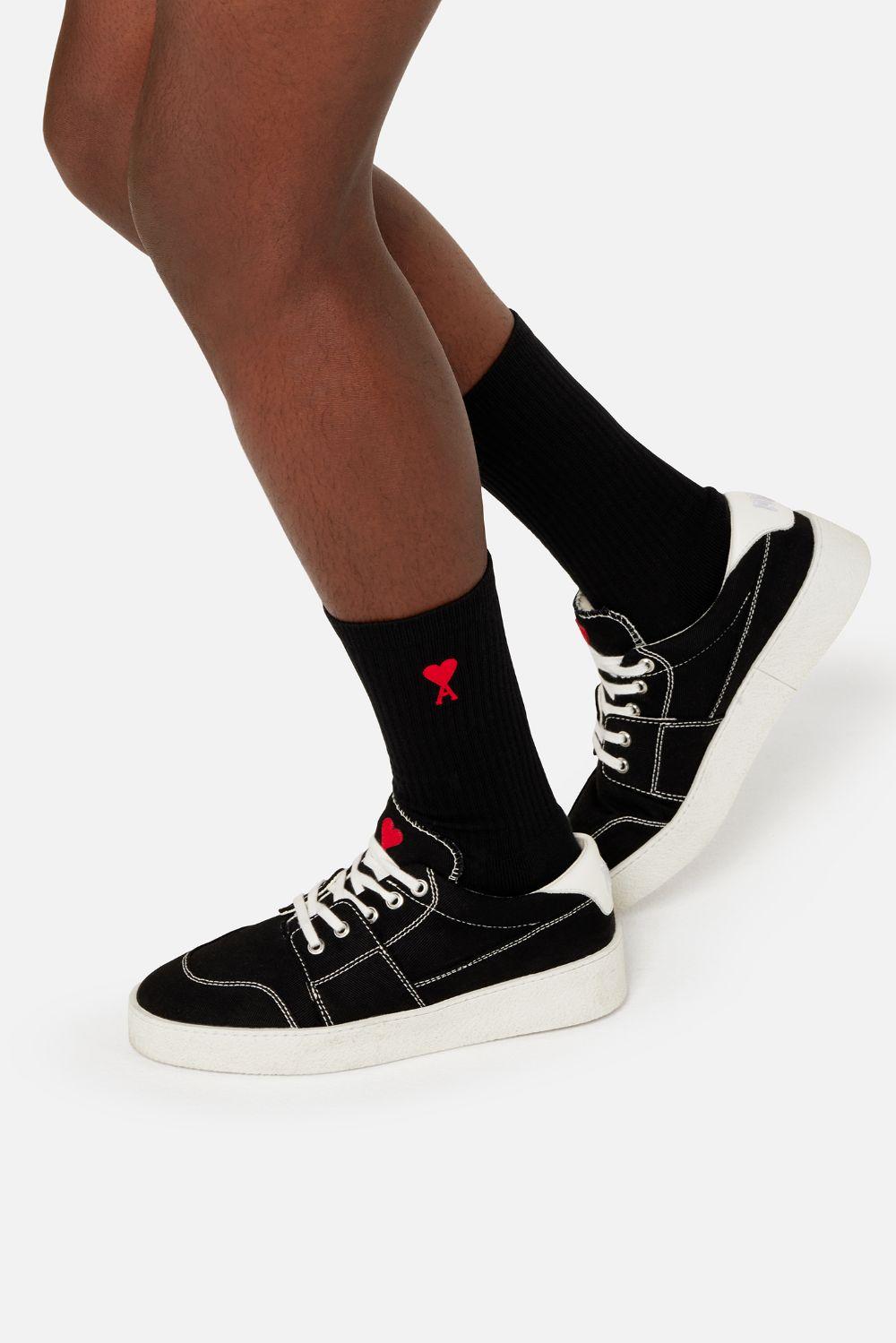Logo Socks Man AMI - ALEXANDRE MATTIUSSI | Socks | A21A601.377001