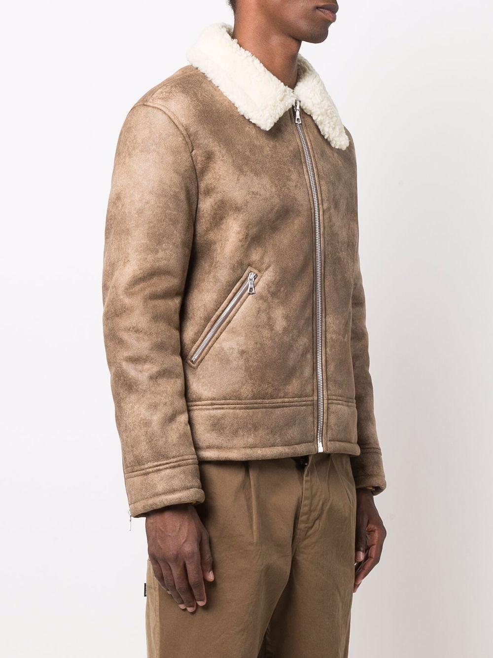 pavel jacket man brown A.P.C.   Jackets   PSAEM-H02633CAG