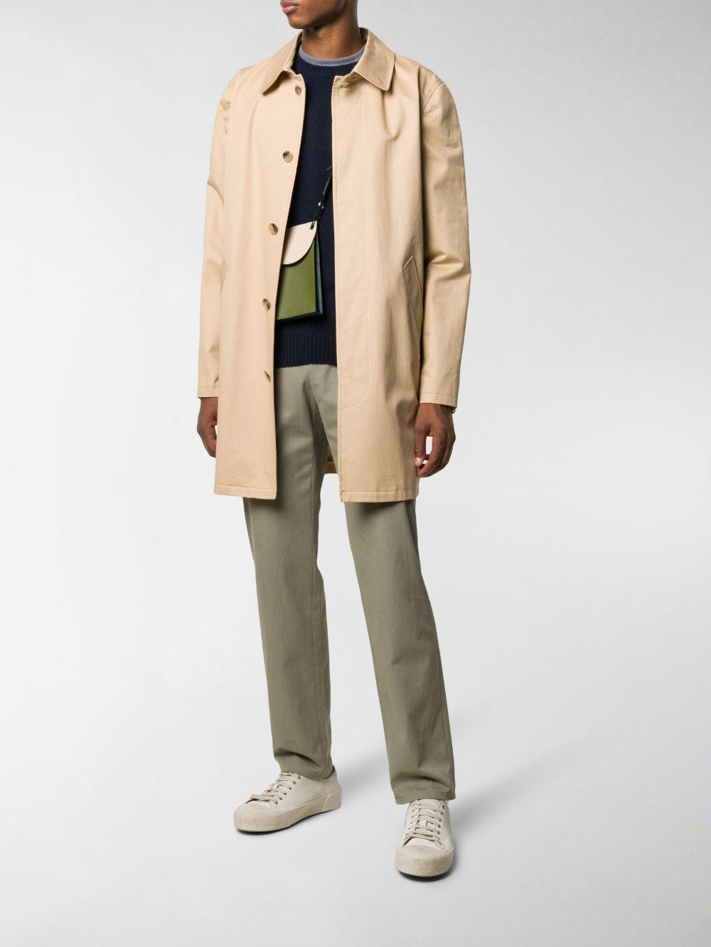maglione in lana uomo blu scuro A.P.C.   Maglieria   WVAWI-H23964IAK