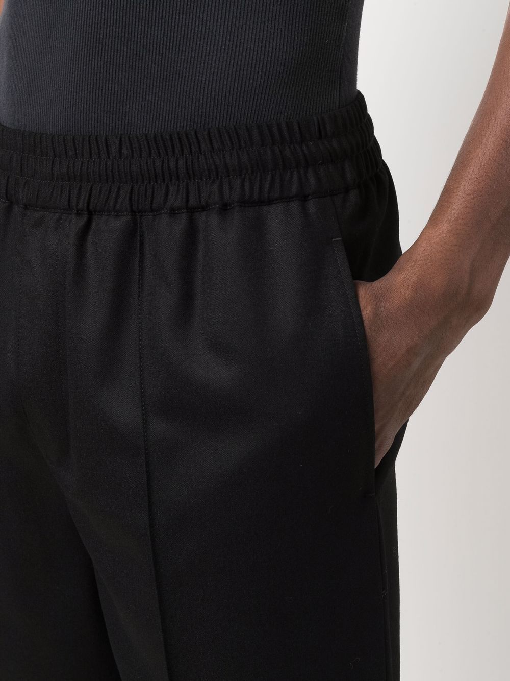 pant pieter man black in wool A.P.C.   Trousers   WVBAG-H08394LZZ
