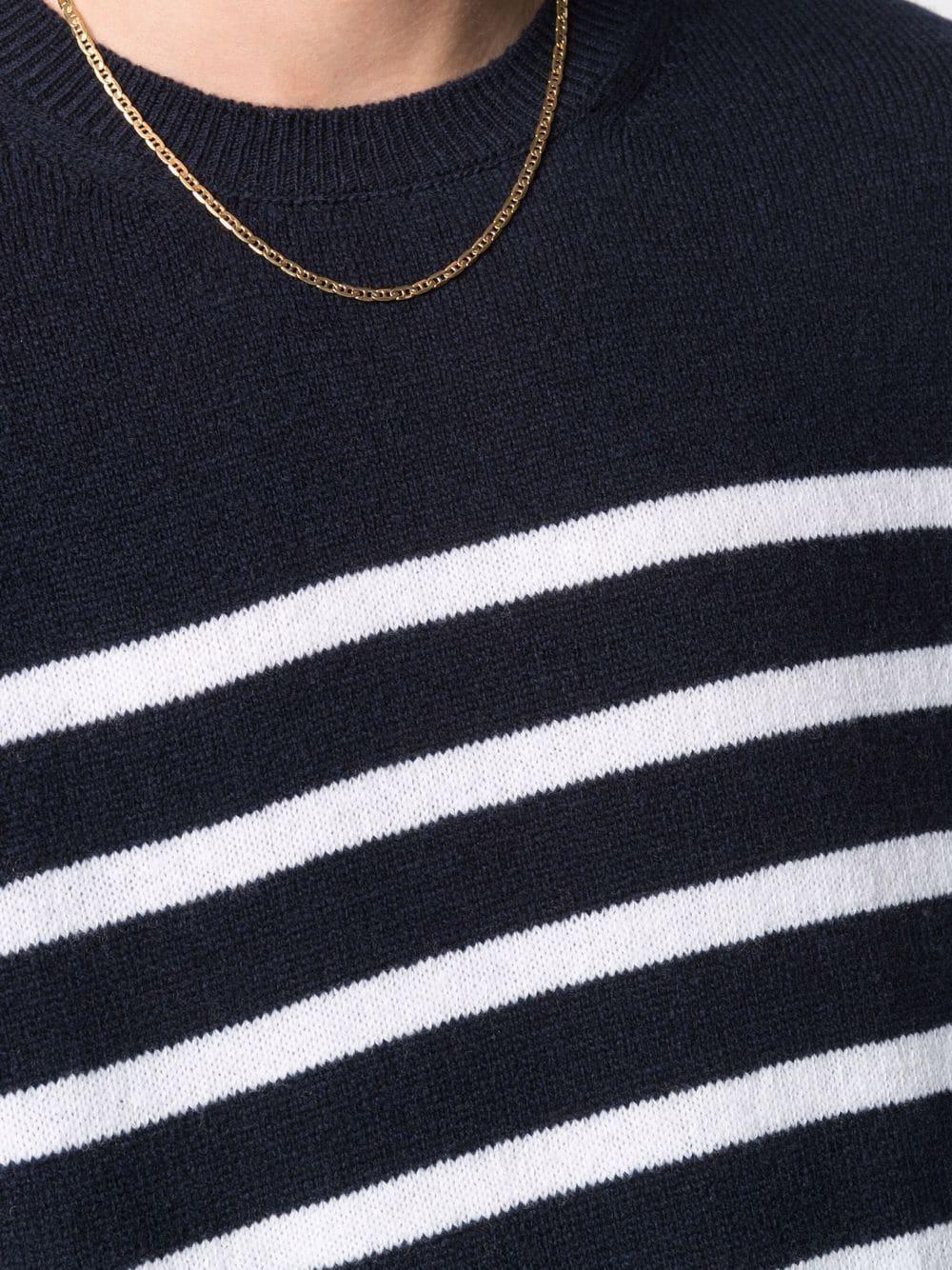 maglione travis a righe uomo blu A.P.C.   Maglieria   WVBAI-H23026IAK