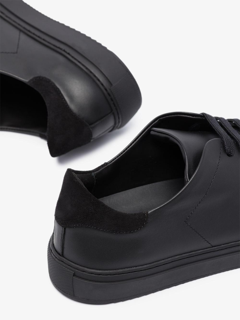 clean 90 sneakers man black in leather AXEL ARIGATO   Sneakers   28116BLACK
