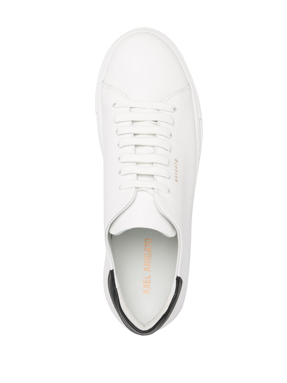 clean 90 contrast sneakers man white in leather AXEL ARIGATO | Sneakers | 28624WHITE/BLACK