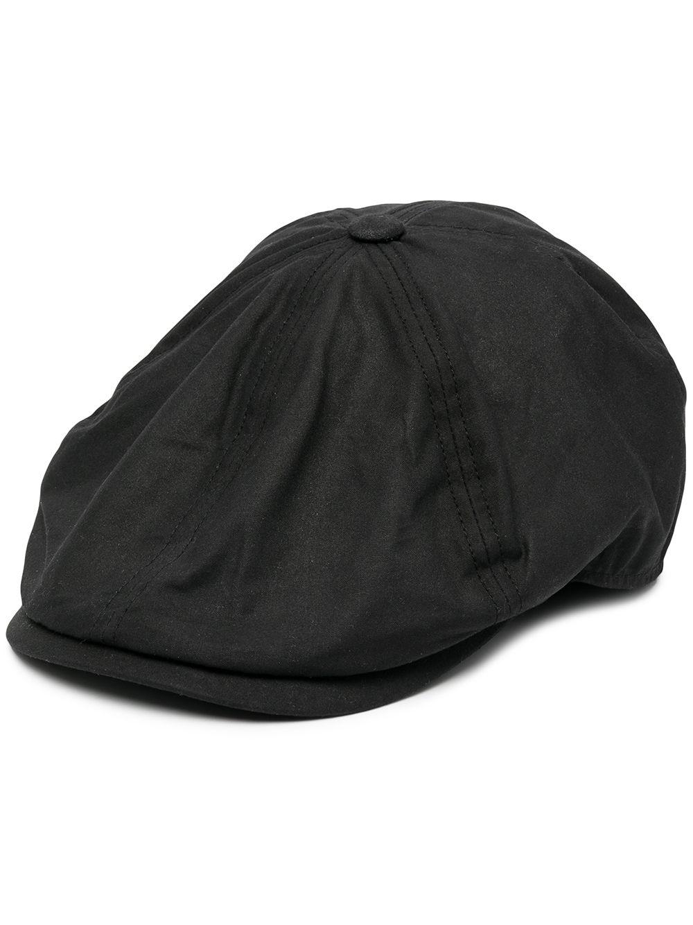 cappello portland uomo nero in cotone BARBOUR   Cappelli   MHA0566BK31