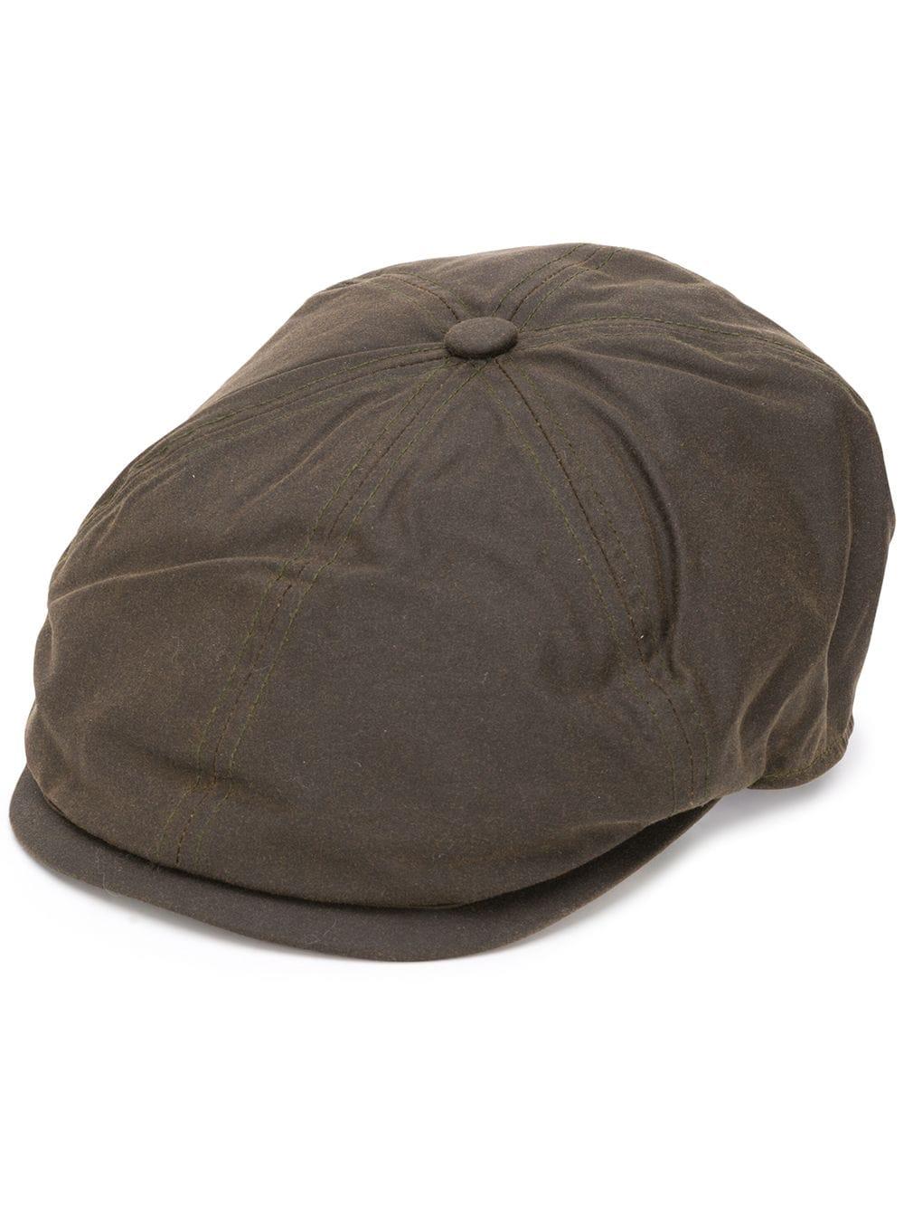 cappello portland uomo marrone in cotone BARBOUR | Cappelli | MHA0566OL71