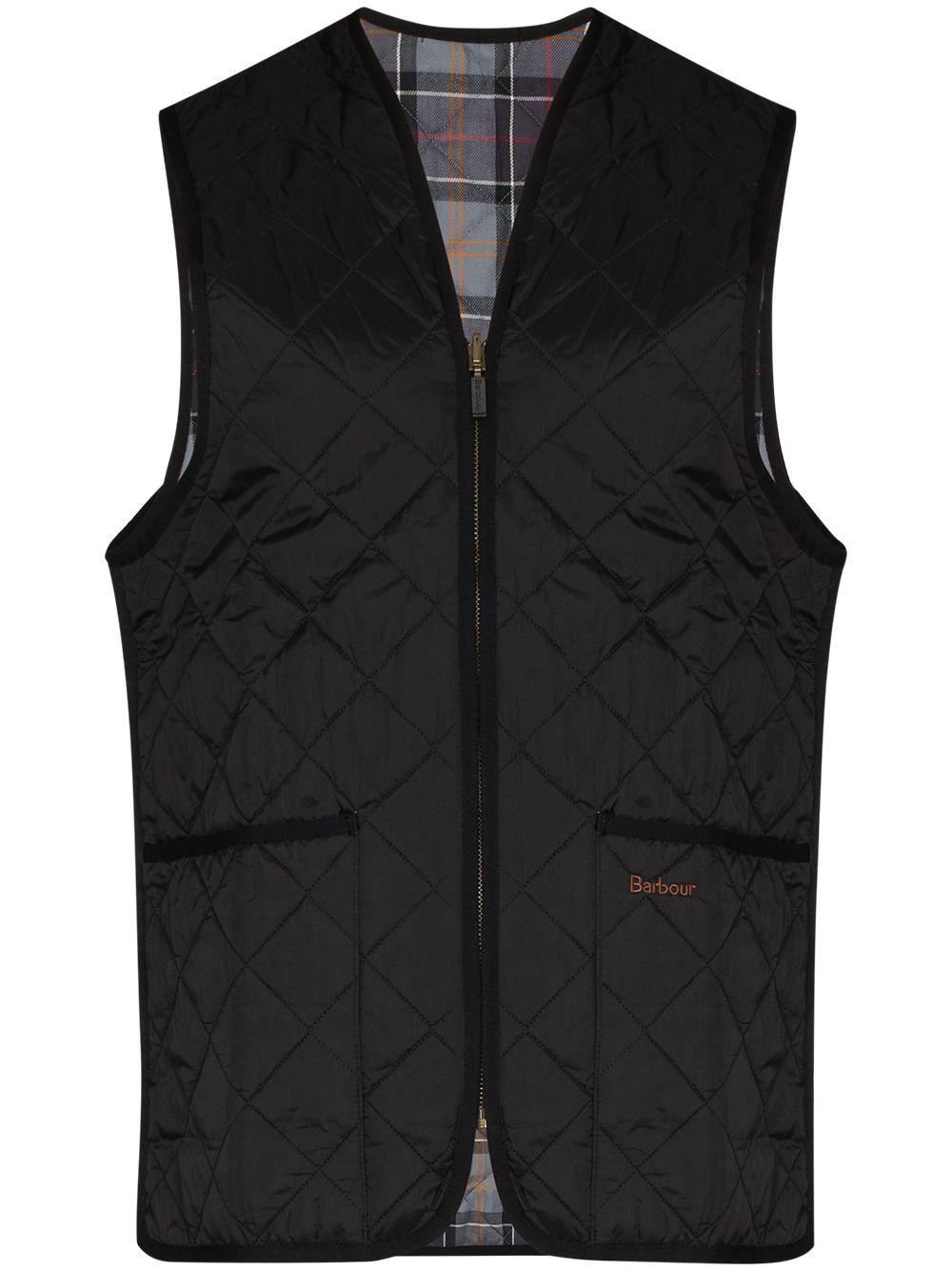 reversible weistcoat man black in cotton BARBOUR | Jackets | MLI0001BK91