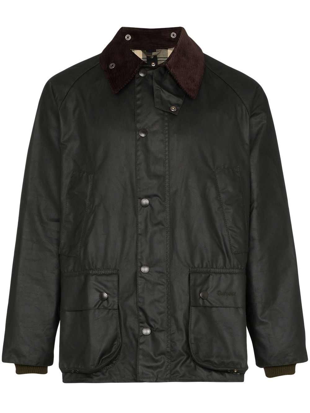 giacca bedale uomo nera in cotone BARBOUR   Giacche   MWX0018SG91