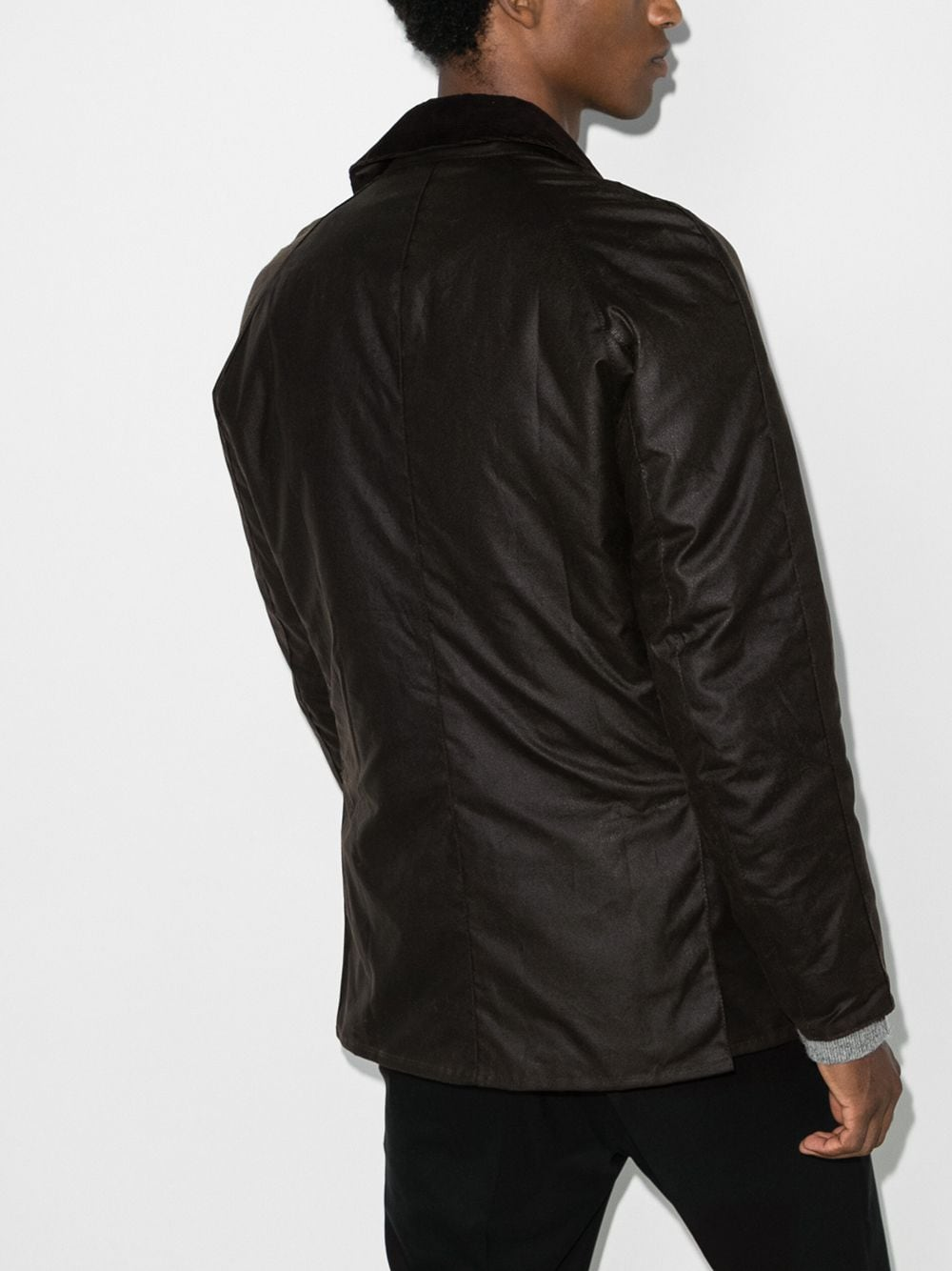 ashby jacket man brown in cotton BARBOUR | Jackets | MWX0339OL71