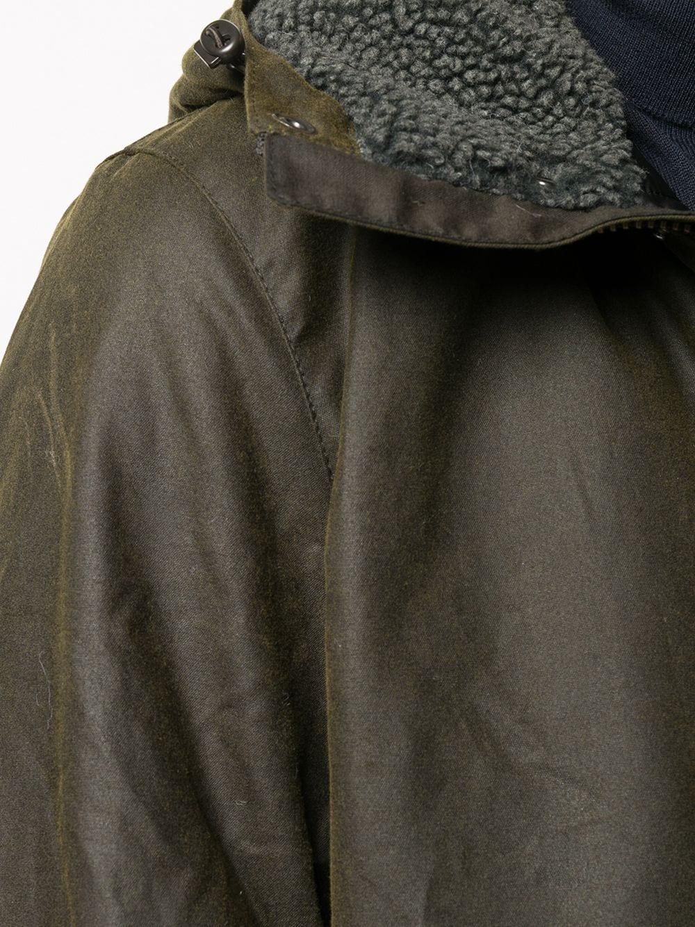waterproof jacket man olive in cotton BARBOUR | Jackets | MWX1372OL51