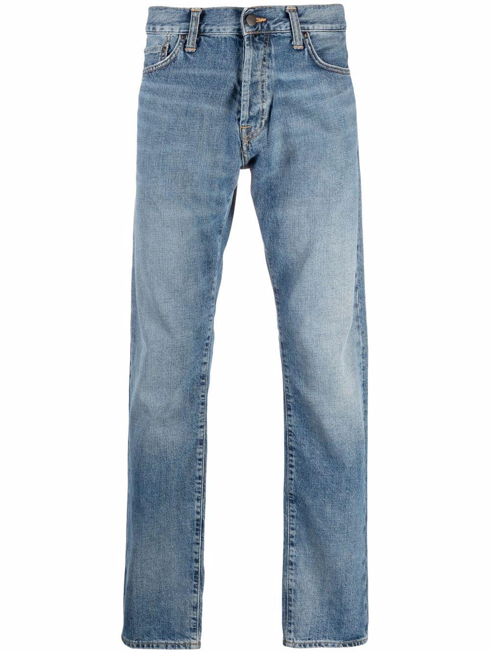 jeans klondike uomo denim CARHARTT WIP | Jeans | I01673501.WH