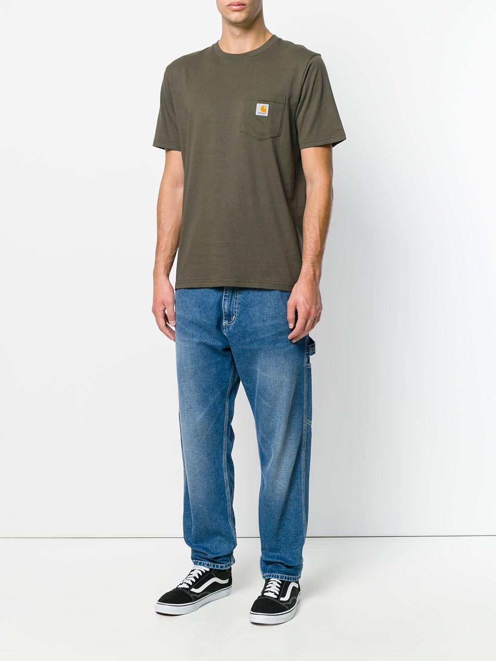 t-shirt taschino uomo cypress in cotone CARHARTT WIP | T-shirt | I02209163.XX