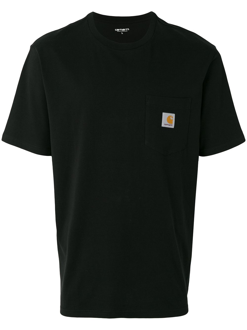 pocket t-shirt man black in cotton CARHARTT WIP | T-shirts | I02209189.XX