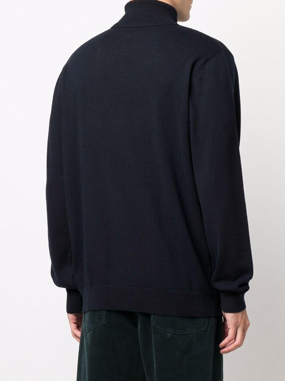 maglione a collo alto uomo blu in lana CARHARTT WIP   Maglieria   I0233681C.XX