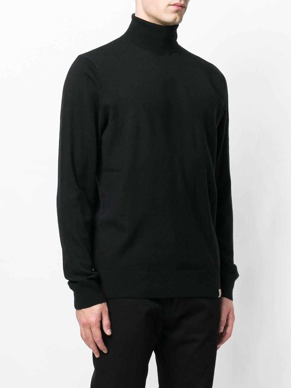 turtleneck sweater man black in wool CARHARTT WIP | Sweaters | I02336889.XX