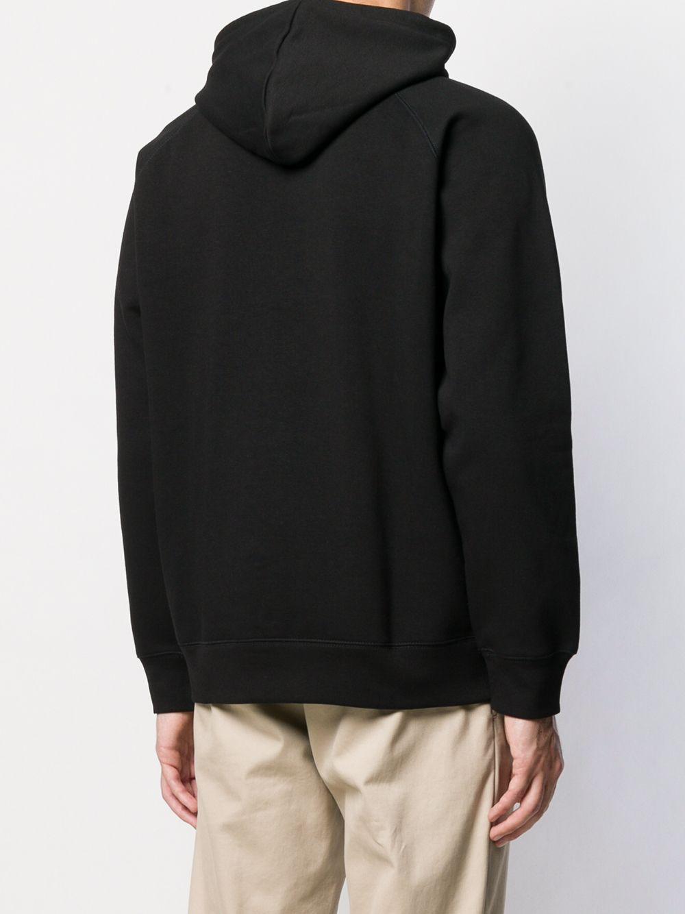 felpa con cappuccio uomo nera in cotone CARHARTT WIP   Felpe   I02638400F.XX