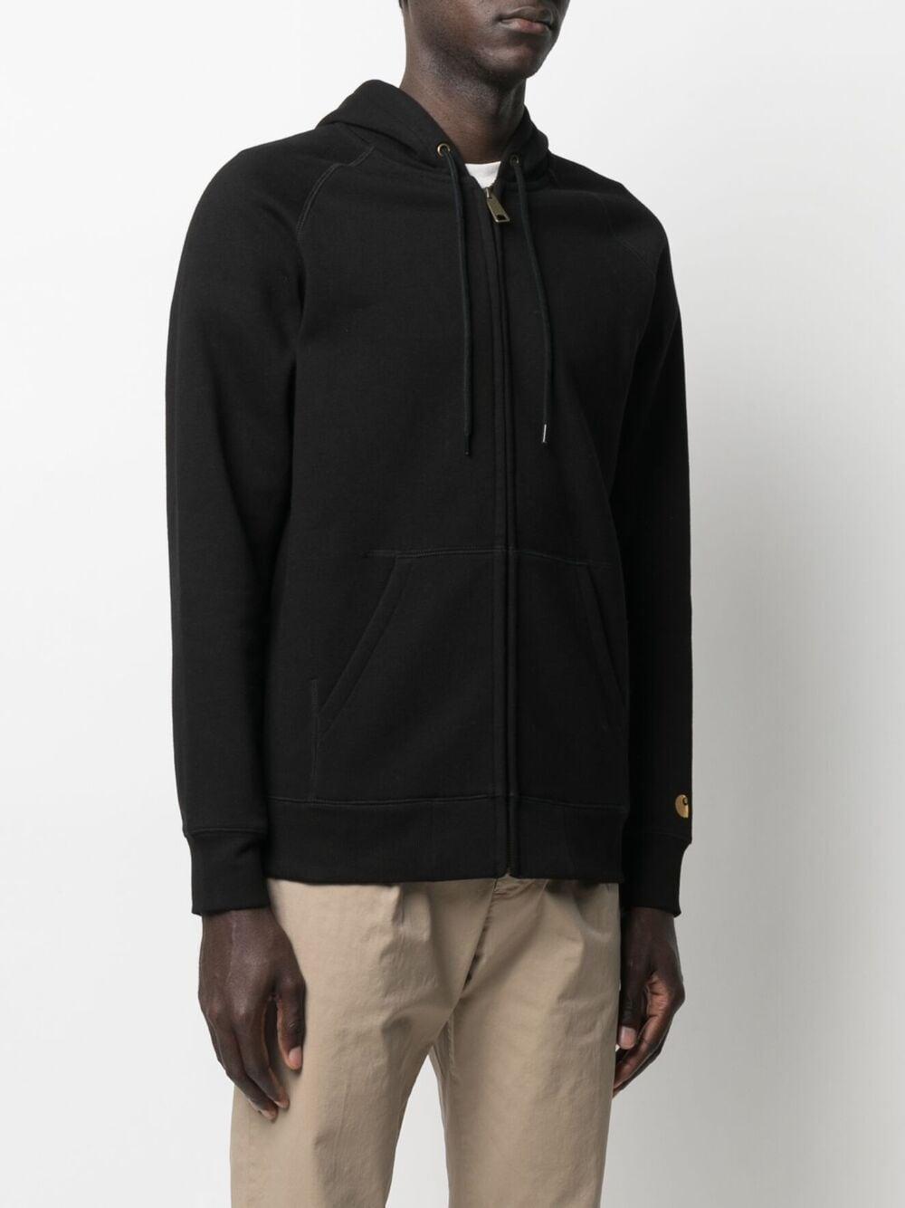 felpa con cappuccio uomo nera in cotone CARHARTT WIP | Giacche | I02638500F.XX