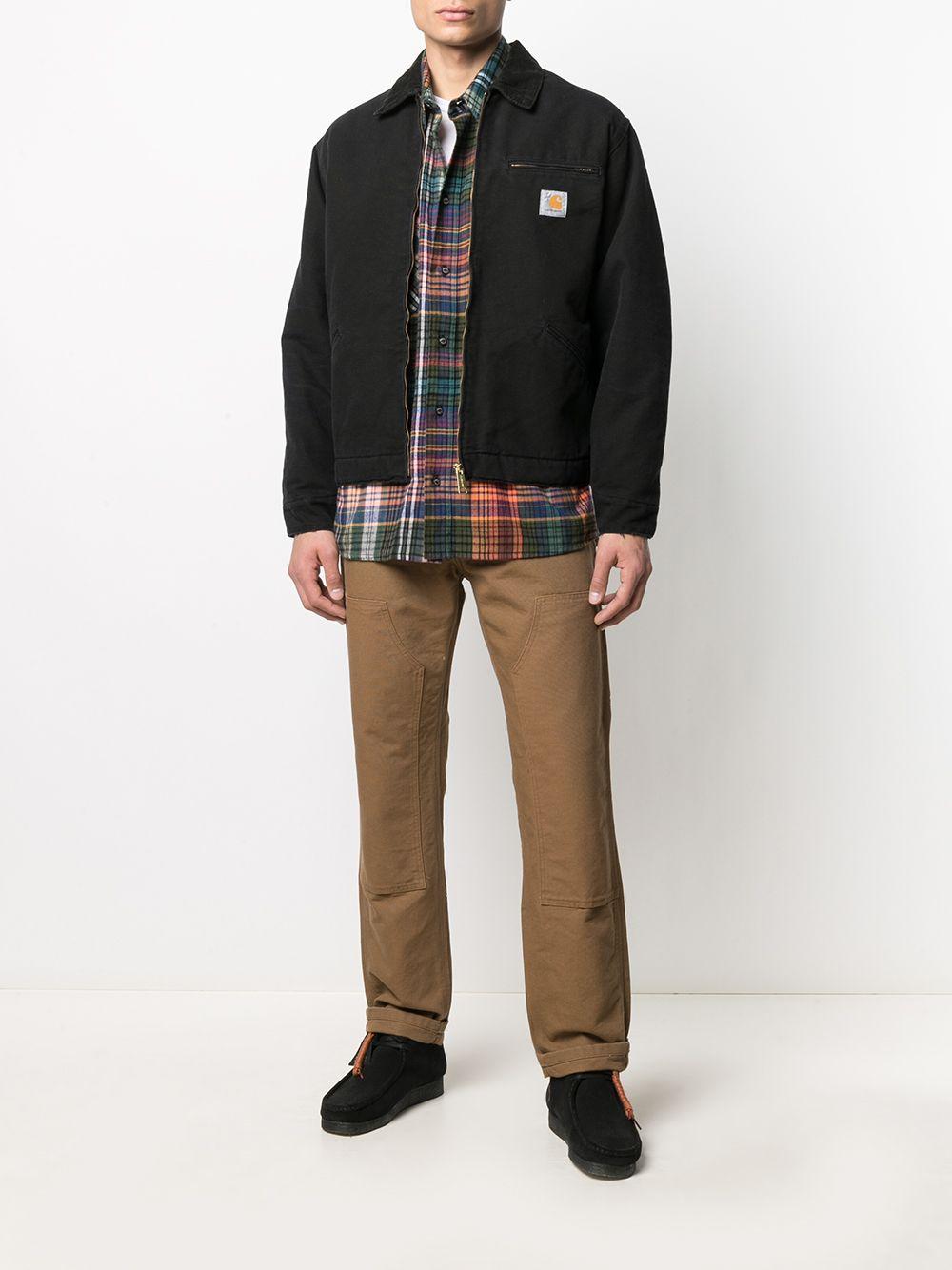 giacca detroit og uomo nera in cotone CARHARTT WIP | Giacche | I02735800E.3K