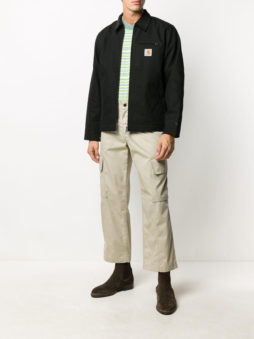 giacca detroit uomo nera in cotone CARHARTT WIP | Giacche | I02842400E.01