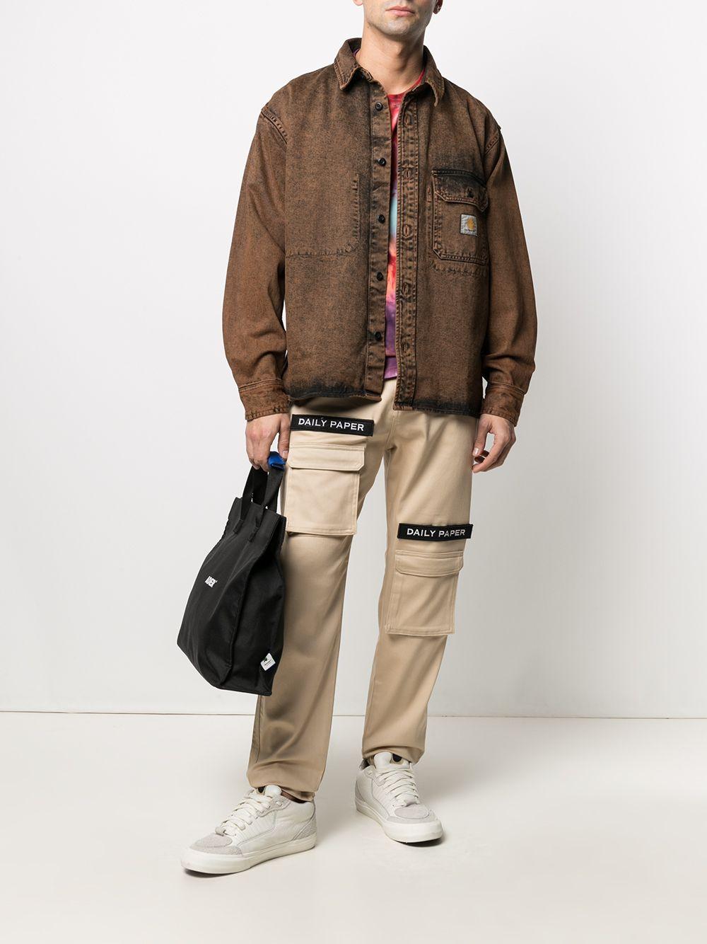 giacca camicia reno uomo marrone in cotone CARHARTT WIP | Camicie | I0291550EP.ZF