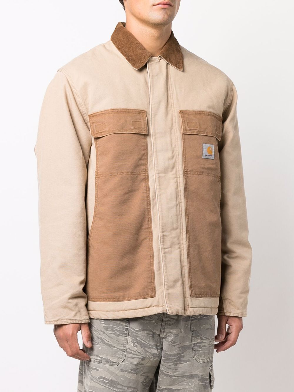 giacca og arctic uomo beige in cotone CARHARTT WIP   Cappotti   I0297690ID.3K