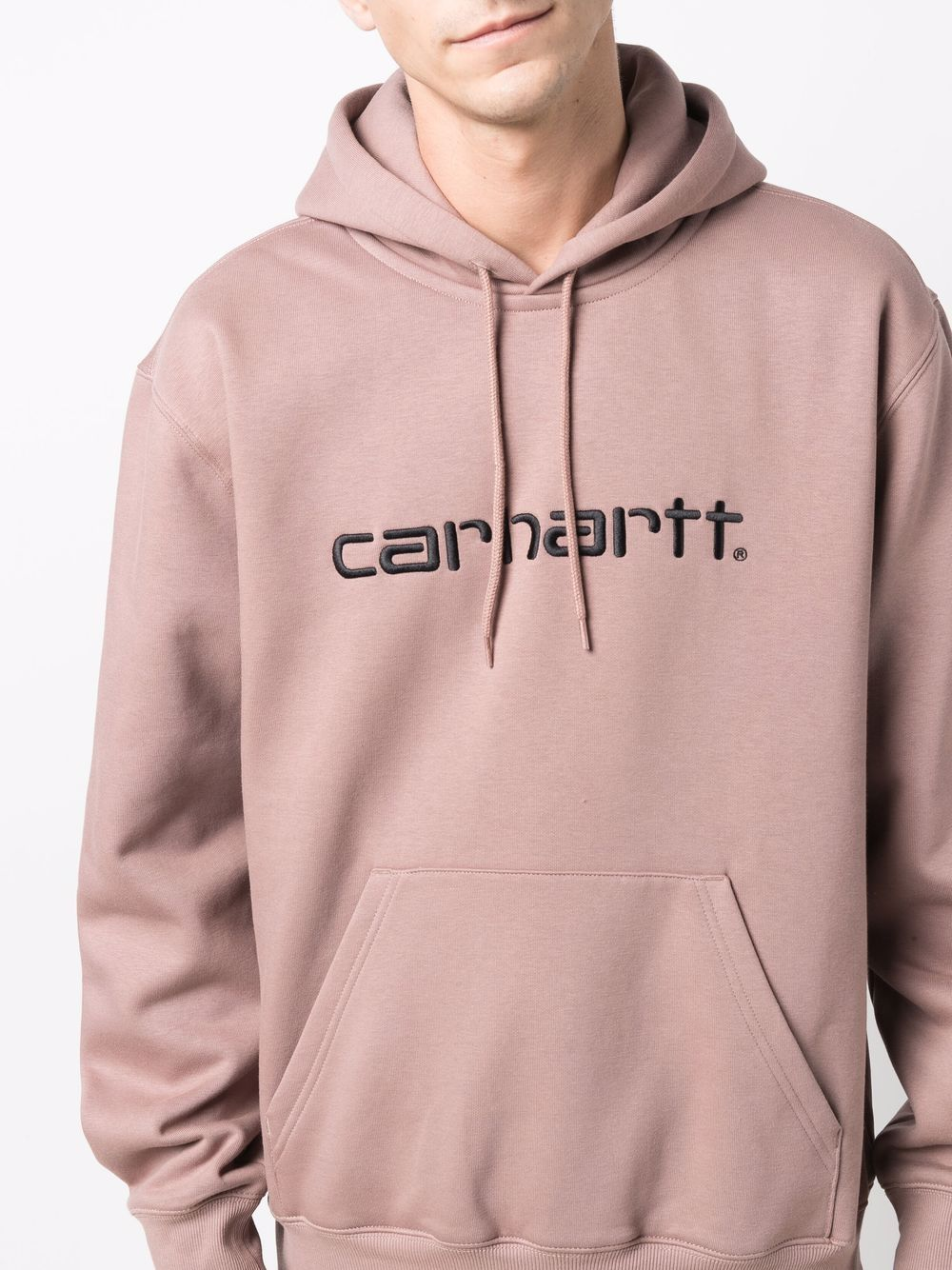 hoodie man powder pink in cotton CARHARTT WIP | Sweatshirts | I0302300J7.XX