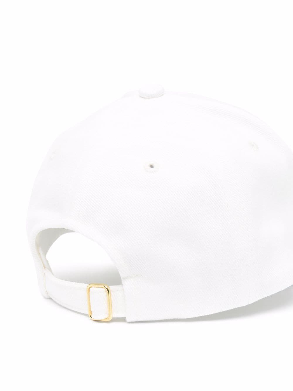 cappello racing twill uomo bianco in cotone CASABLANCA   Cappelli   AF21-HAT-008OFF WHITE CASABLANCA RACING