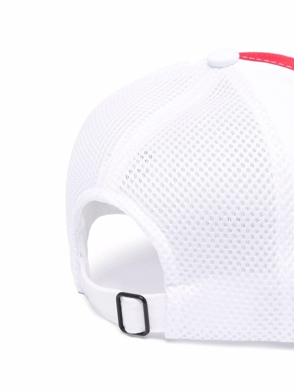 100s japan twill cap man white in cotton CASABLANCA | Hats | AF21-HAT-012CASABLANCA 100'S JAPAN