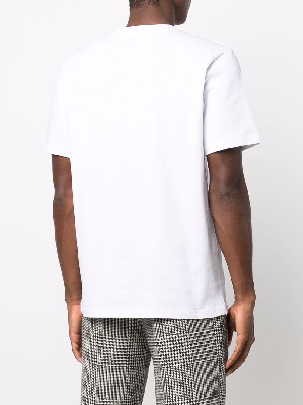 t-shirt with print man white in cotton CASABLANCA | T-shirts | MF21-TS-001WHITE CASA SPORT GREEN