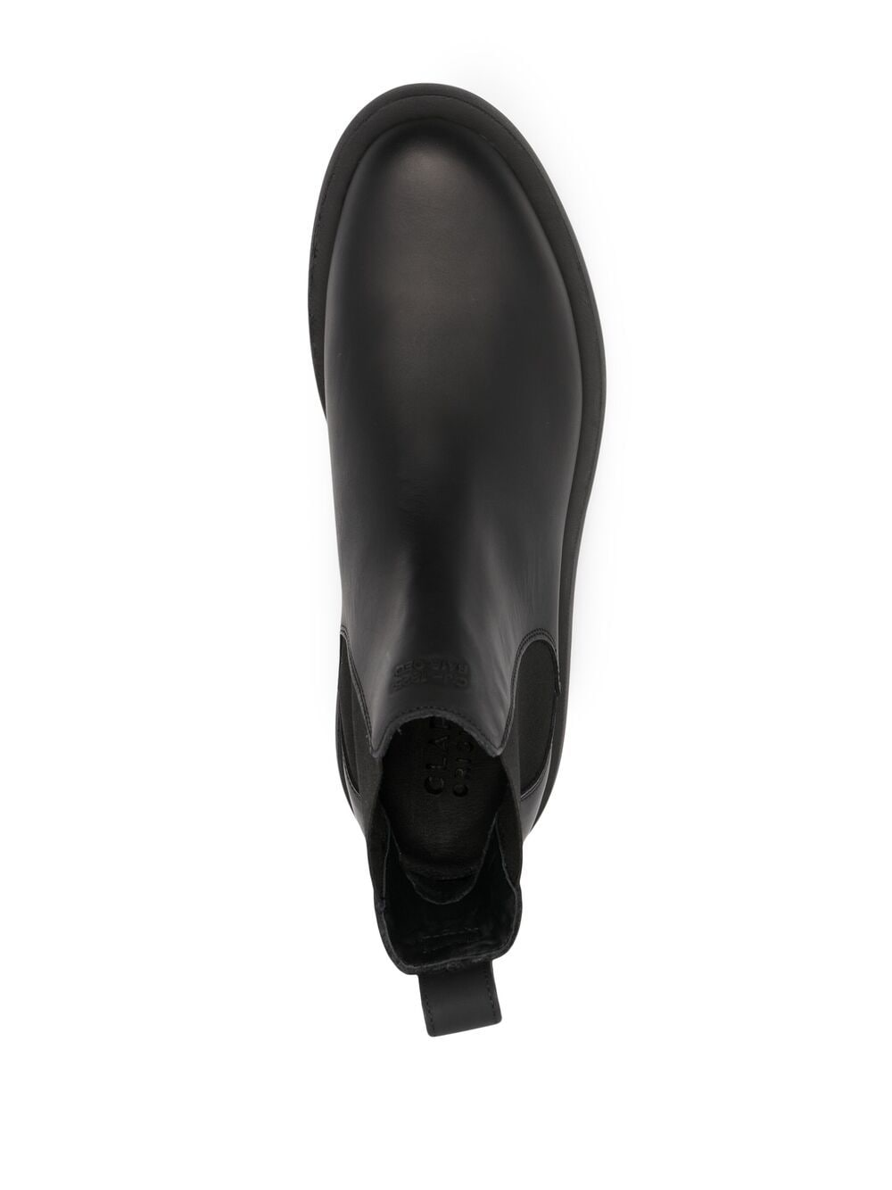 Chelsea Mileno Neri Uomo in Pelle CLARKS | Stivali | 26160854BLACK