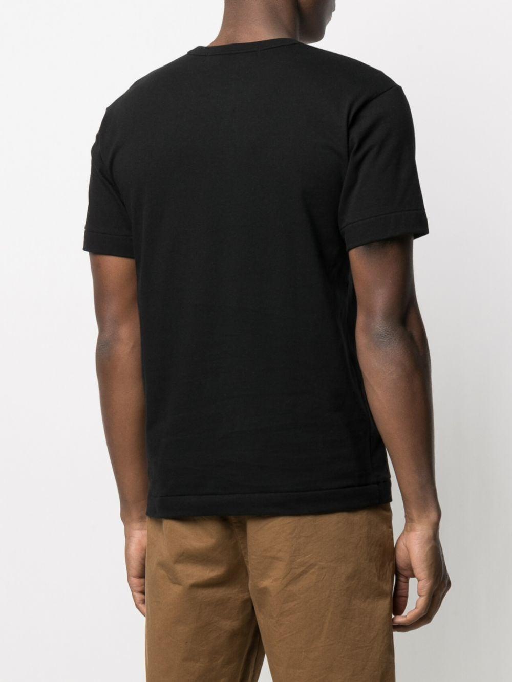t-shirt play uomo nera in cotone COMME DES GARÇONS PLAY | T-shirt | P1T2881