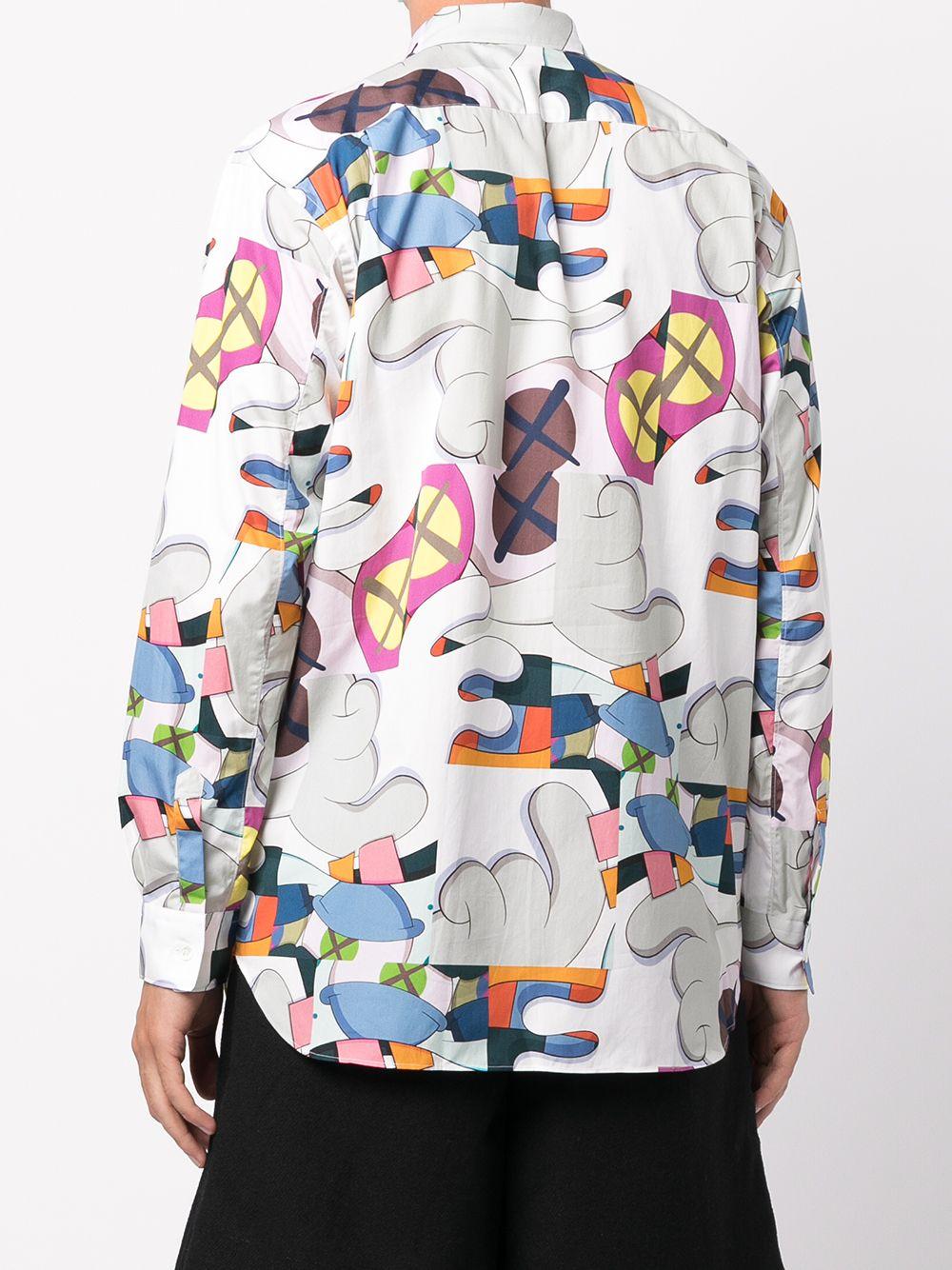 woven shirt man multicolor in cotton COMME DES GARÇONS SHIRT | Shirts | FH-B021-W211