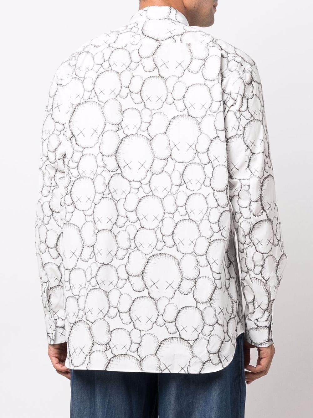 woven shirt man white in cotton COMME DES GARÇONS SHIRT | Shirts | FH-B025-W211
