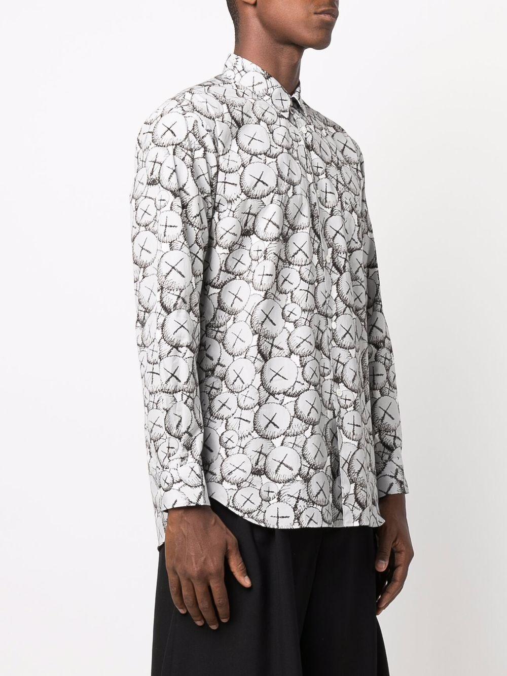 woven shirt man white in cotton COMME DES GARÇONS SHIRT | Shirts | FH-B027-W211