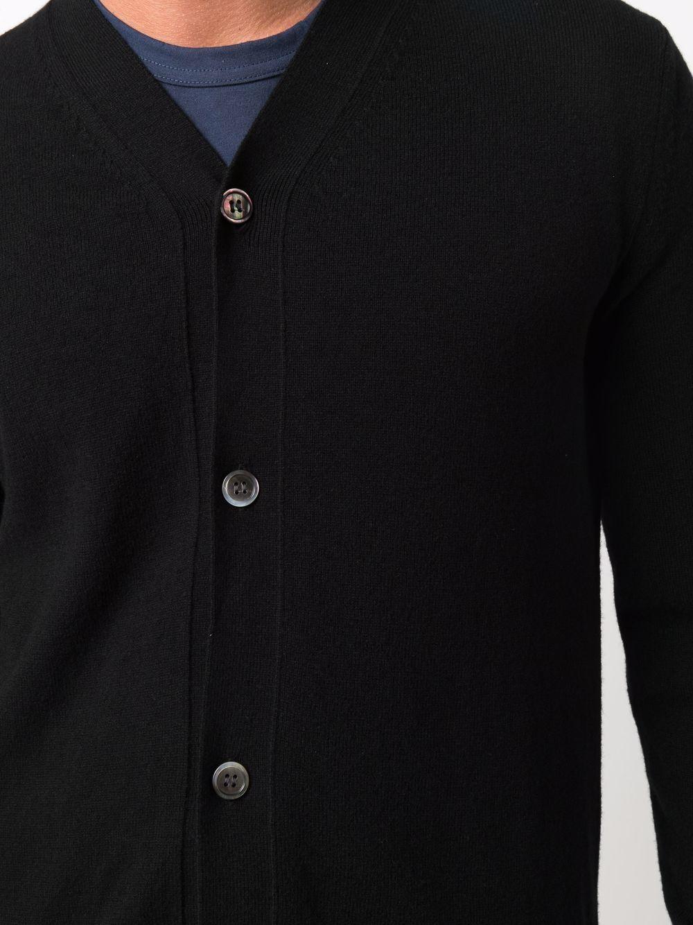 cardigan in lana uomo nero COMME DES GARÇONS SHIRT | Maglieria | FH-N001-W211
