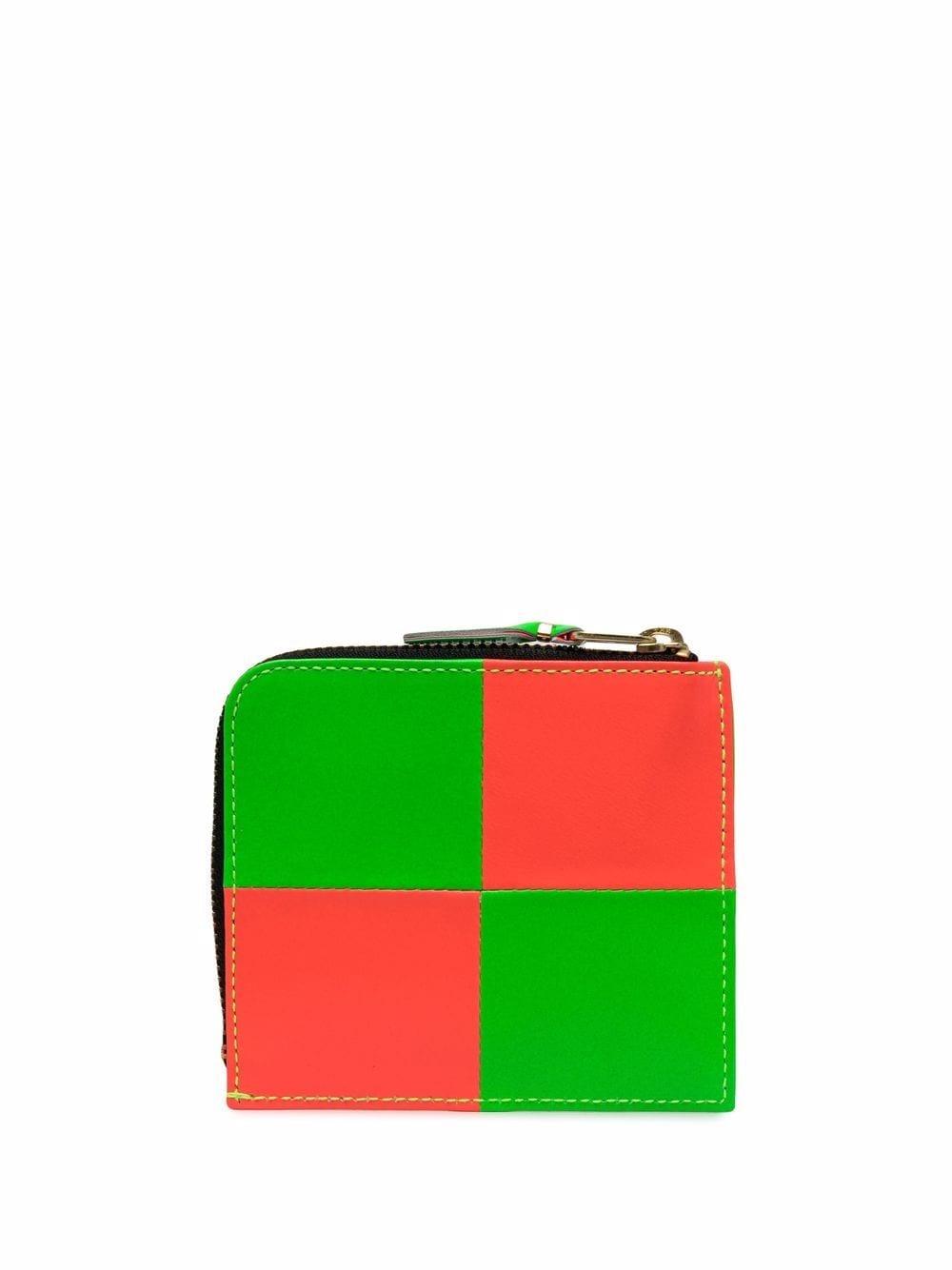 bicolor wallet unisex in leather COMME DES GARÇONS WALLET   Wallets   SA3100FS1