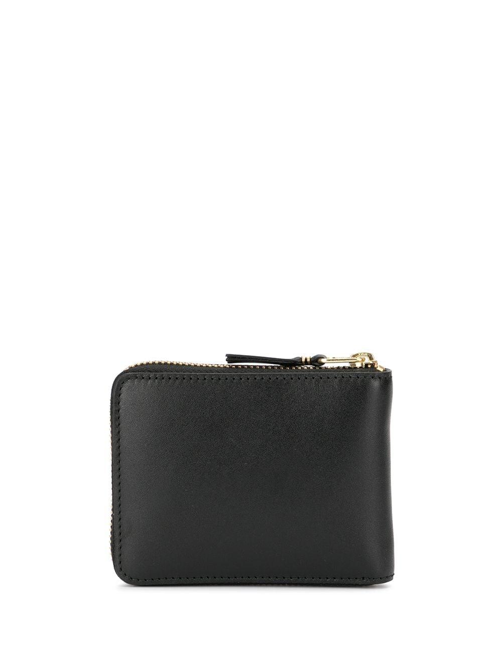 portafoglio classic line uomo nero in pelle COMME DES GARÇONS WALLET   Portafogli   SA7100800