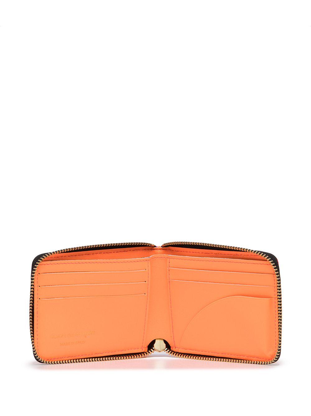 leather wallet unisex bicolor COMME DES GARÇONS WALLET   Wallets   SA7110FS1