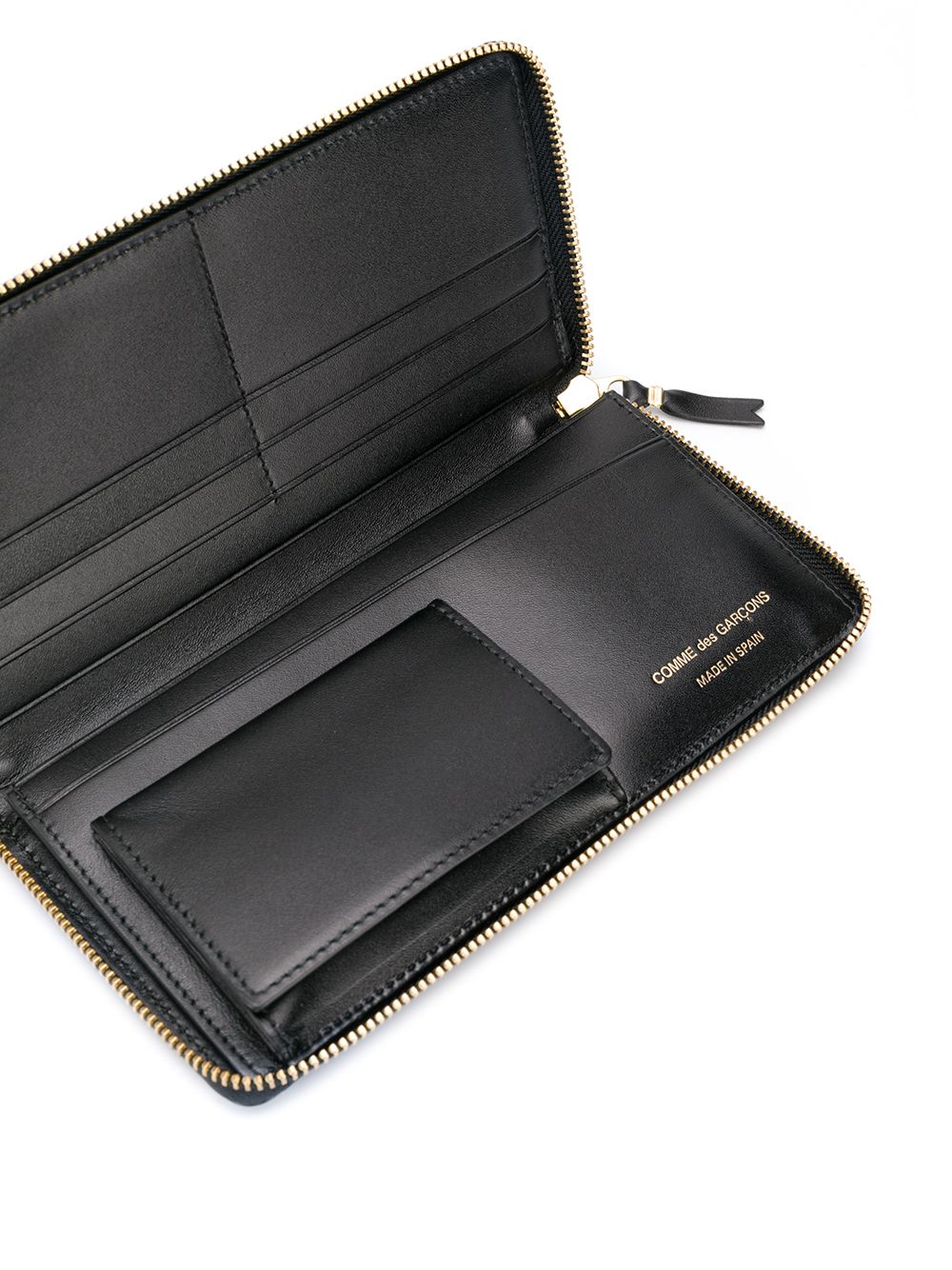 portafoglio classic line unisex nero in pelle COMME DES GARÇONS WALLET | Portafogli | SA0110800