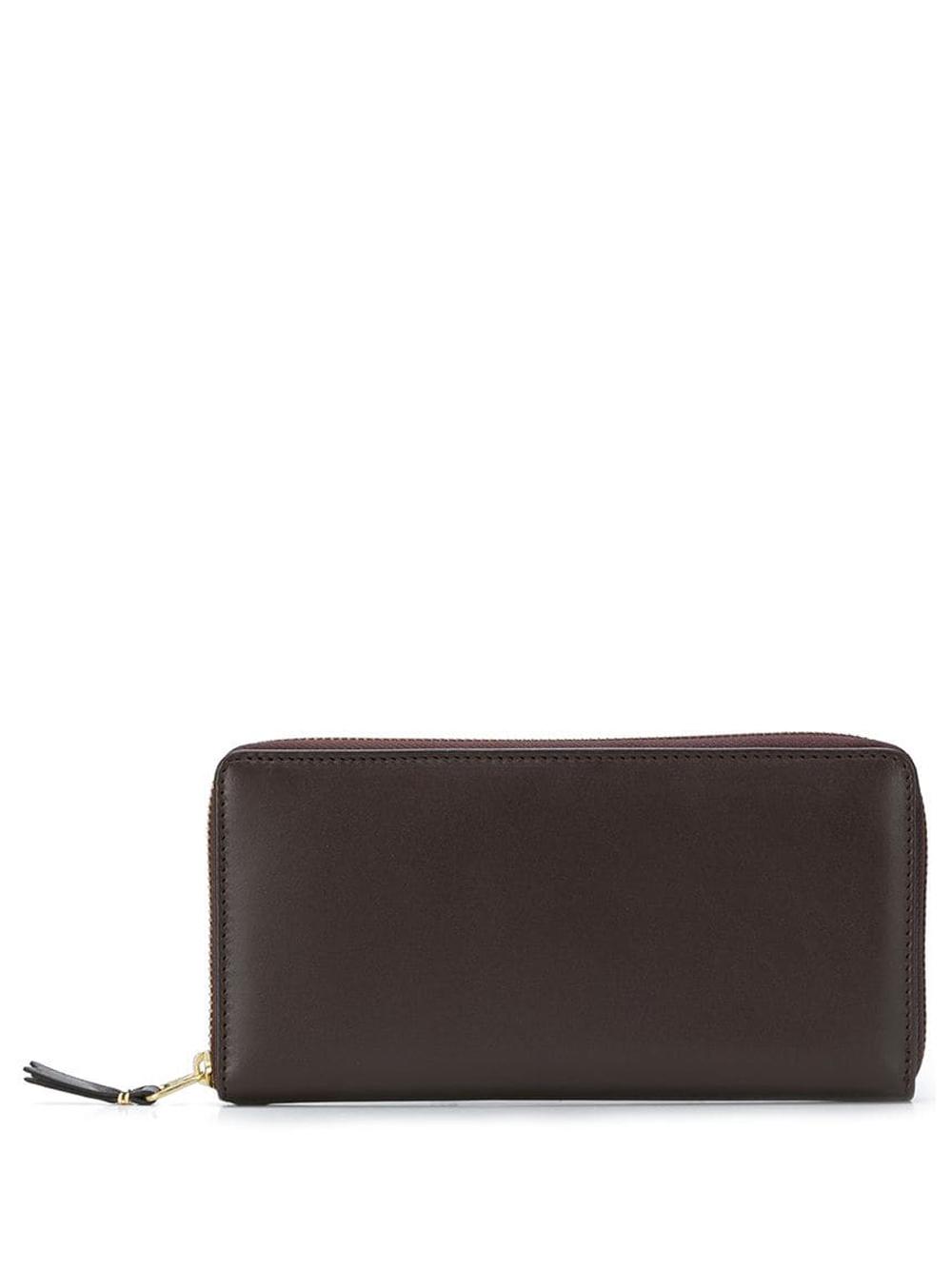 portafoglio classic line unisex marrone in pelle COMME DES GARÇONS WALLET | Portafogli | SA0110801