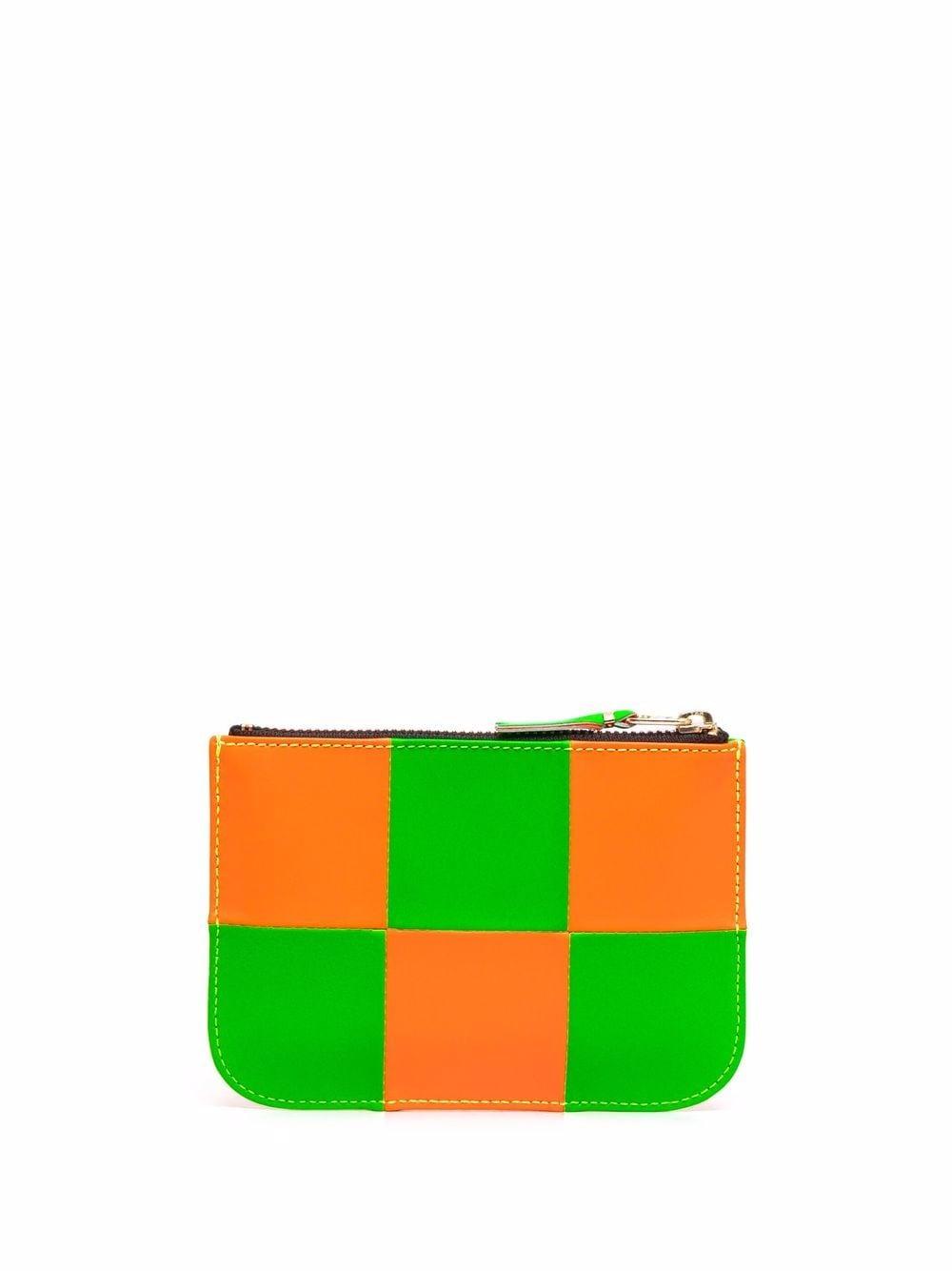 portafoglio bicolore unisex in pelle COMME DES GARÇONS WALLET   Portafogli   SA8100FS1