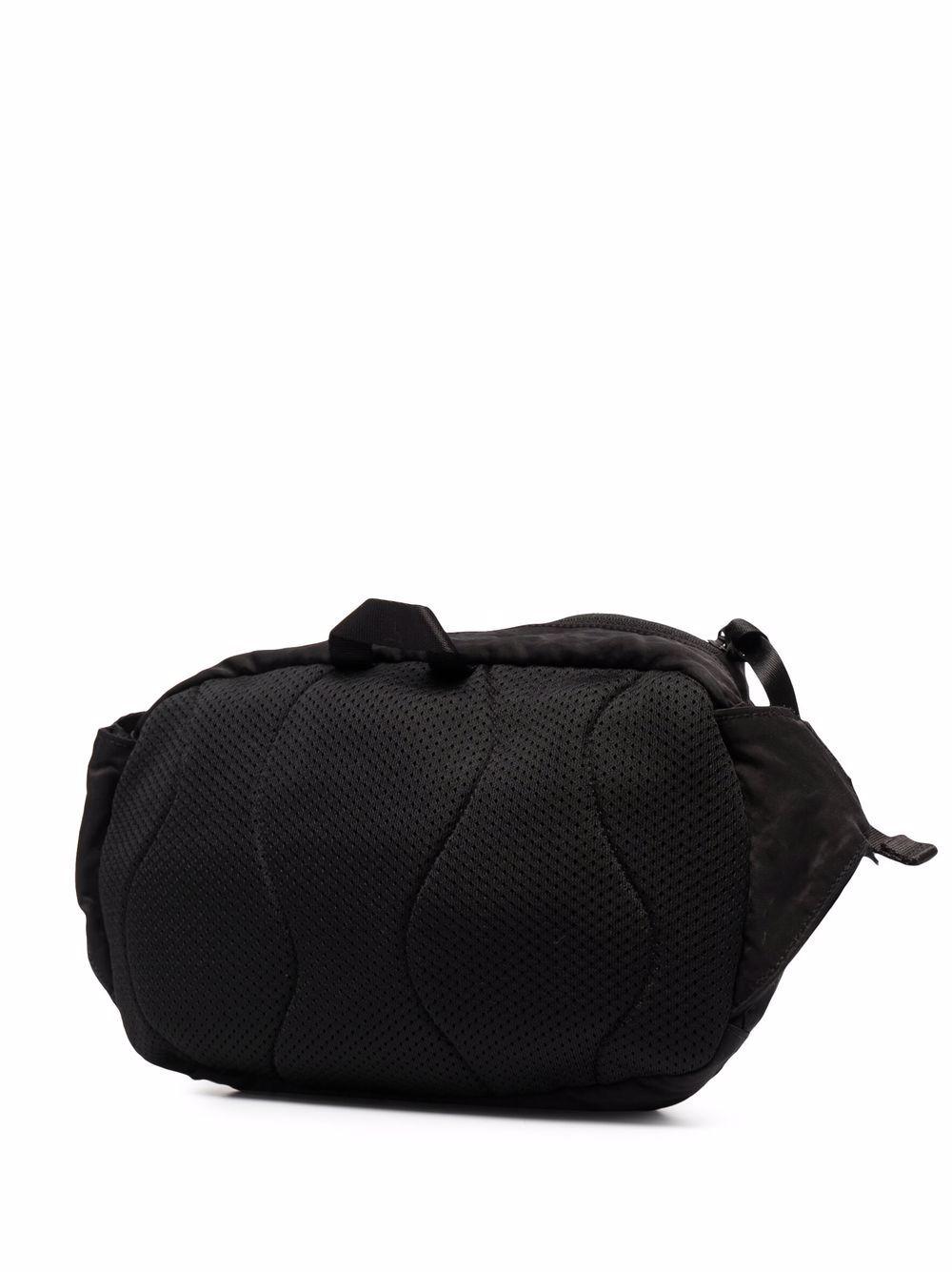 marsupio con logo uomo nero in nylon C.P. COMPANY | Marsupi | 11CMAC112A005269G999