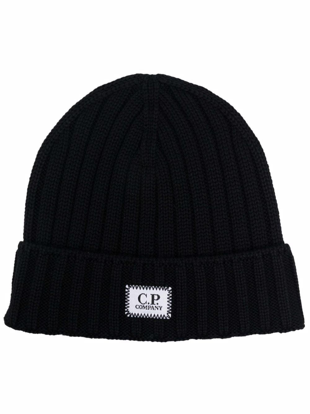 cappello in lana uomo nero C.P. COMPANY | Cappelli | 11CMAC120A005509A999