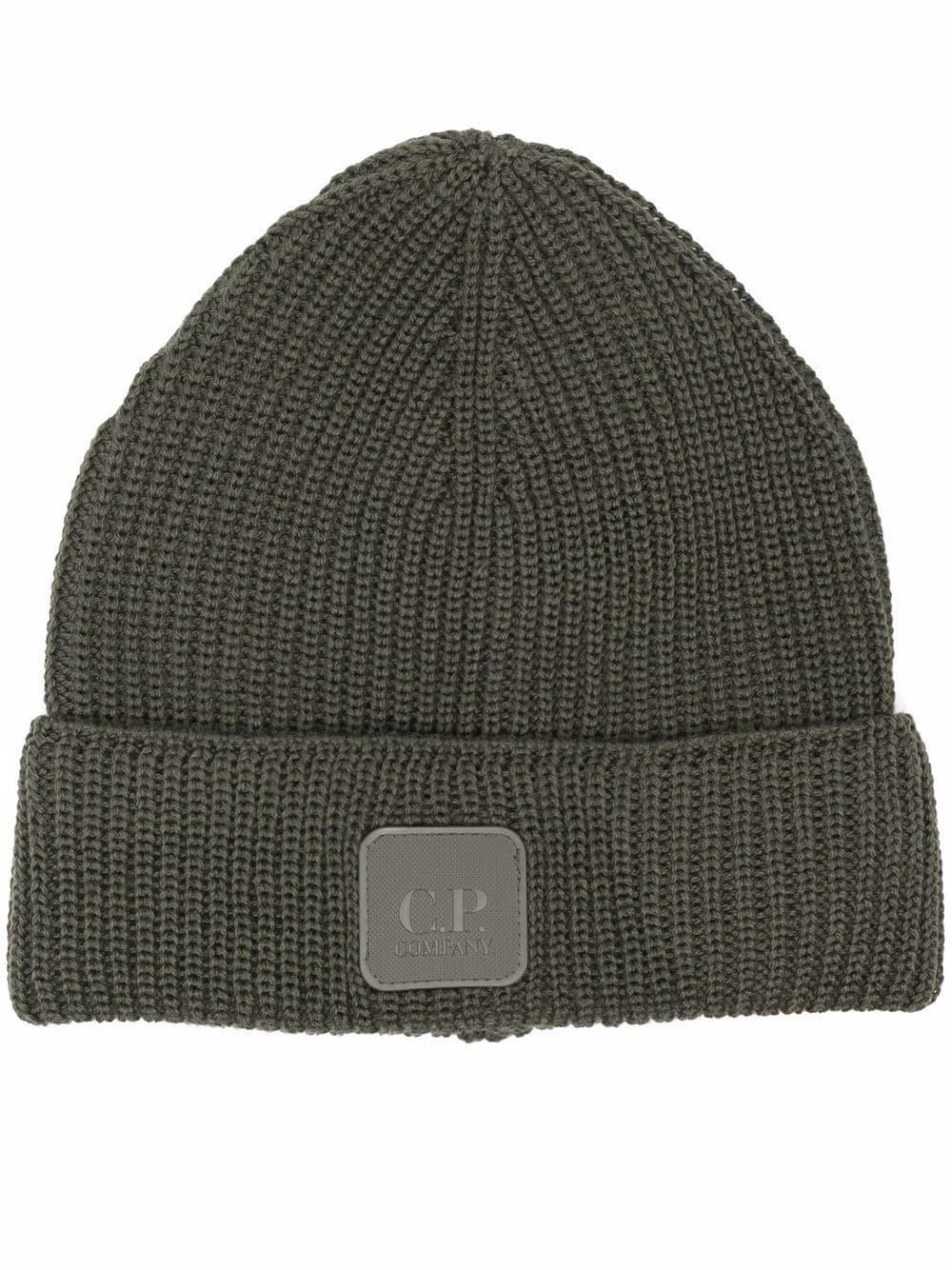 wool hat man gray C.P. COMPANY | Hats | 11CMAC121A005509A665
