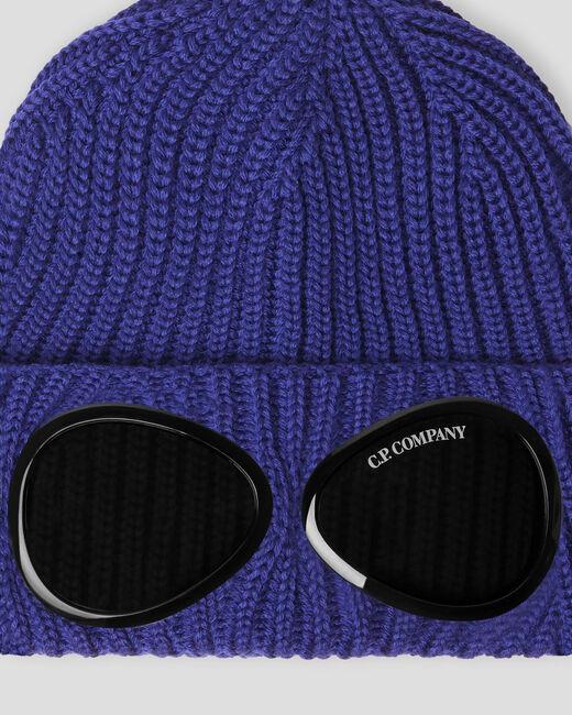 wool hat man blue C.P. COMPANY | Hats | 11CMAC122A005509A878