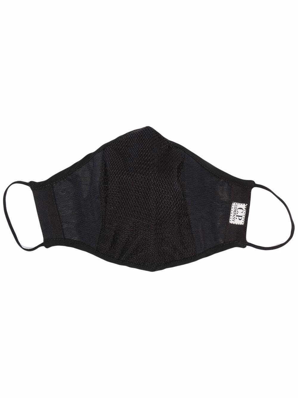 logo mask unisex black C.P. COMPANY | Face Mask | 11CMAC303A005862M999