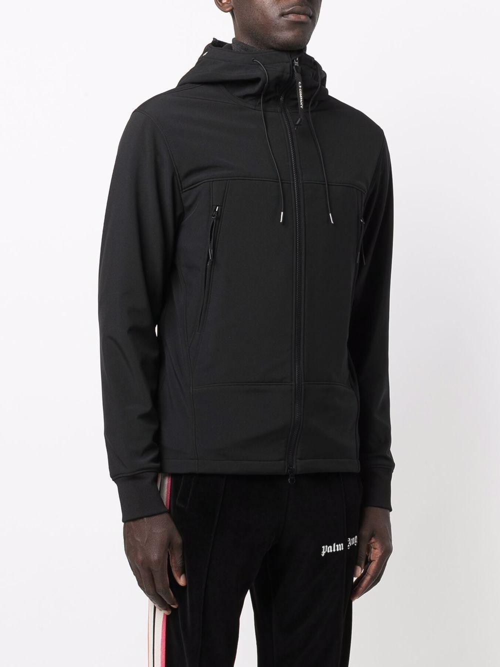 giacca leggera con cappuccio uomo nera C.P. COMPANY   Giacche   11CMOW002A006097A999